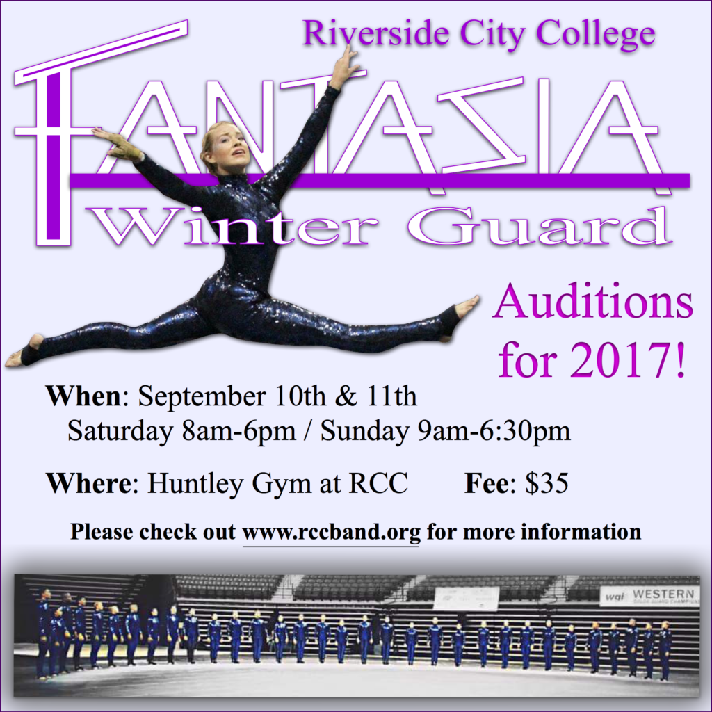 F Auditions 2017